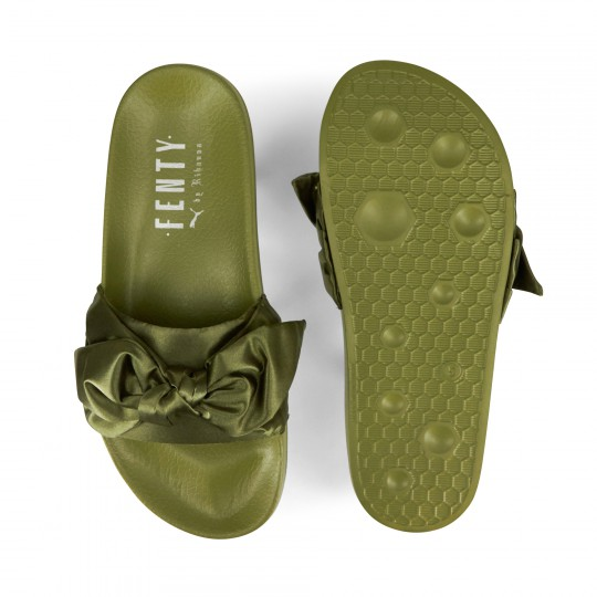 Sandales vertes tendance