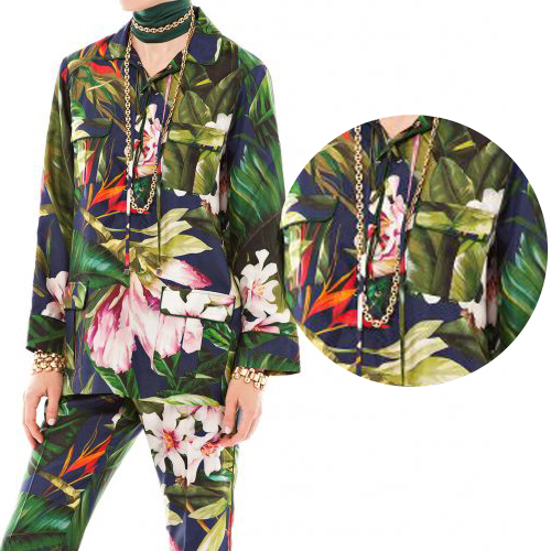 FRS pyjama soie Chaos