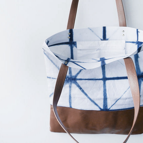 THEPRINTROOMDESIGN Tote bag shibori