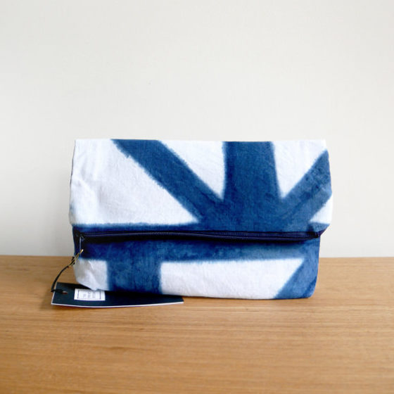 THEPRINTROOMDESIGN Clutch shibori