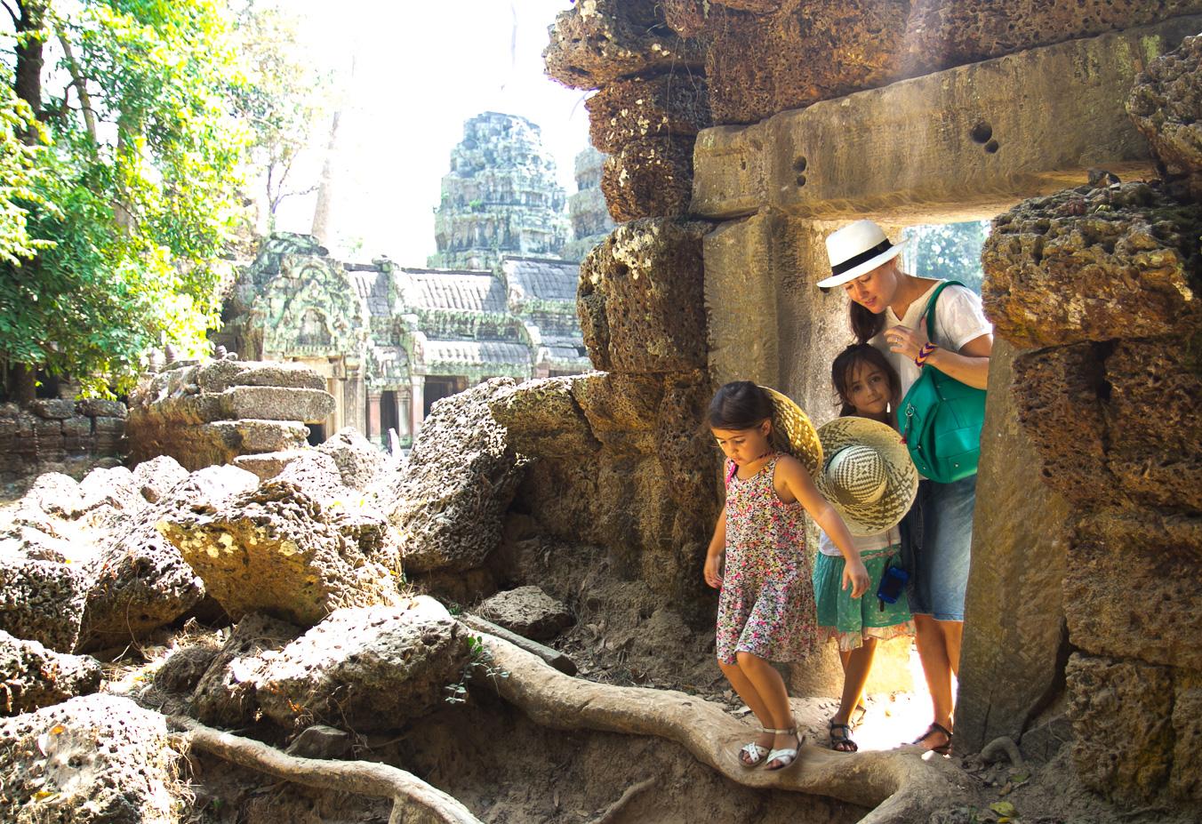 Solene Debies Angkor Cambodge
