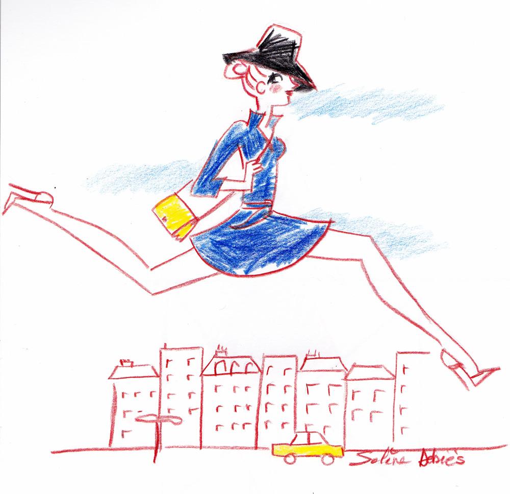 illustration femme Solene Debies