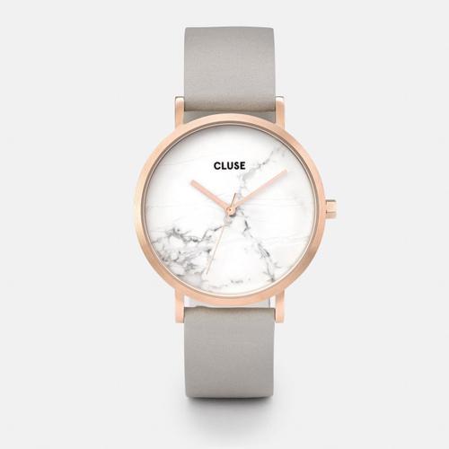 CLUSE Montre marbre & or rosé