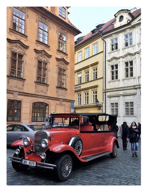 promenade à Prague en voiture calèche