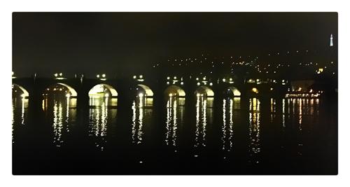 vue sur la Vtlava Prague